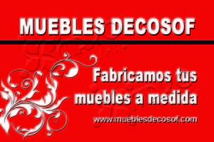 Muebles Decosof